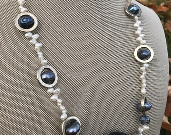 Pearls and Glass Beads