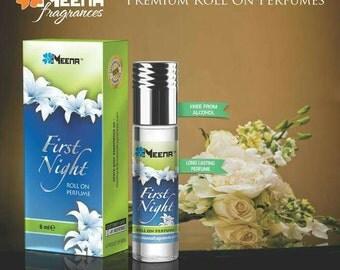 Awesome Meena Fragrance First Night Attar Oil Perfume, Gypsy Perfume, Boho Perfume, Bohemian Perfume 8 ml Free Shipping