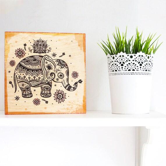 Elephant Print, Elephant Art, Elephant Wall Art, Elephant Poster, Elephant Wall Decor, Feng Shui Decor, Feng Shui Wall Art, Elephant Nursery