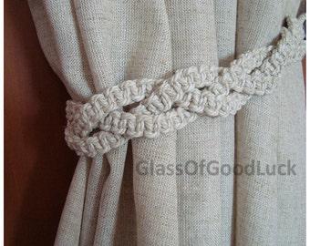 Window Accessories.Decorative Tie Backs Curtain. Curtain TieBacks.