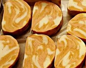 Caramelized Pear Bubble Bar / All natural Bubble bath / Bubble bath bar / Natural Aromatherapy bubbles / Pear bath / Fruity Bath and Beauty