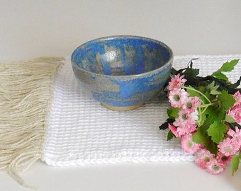 The Tinou lunch Douceur Blue bowl for water or food for dog or cat