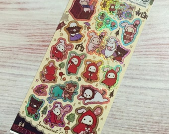 Sparkly Sentimental Circus Stickers - Storybook Forest