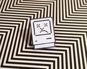 Sad Mac Glow in the Dark Soft Enamel Pin