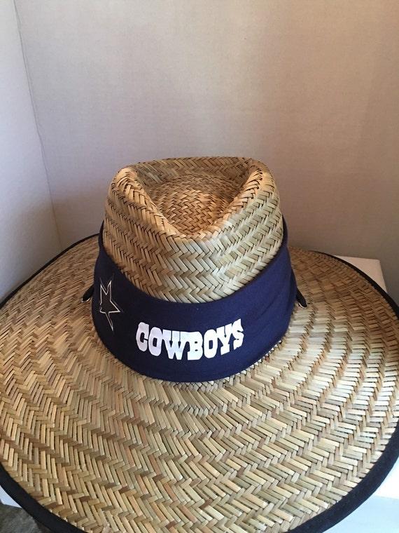 Dallas cowboys sun hats by sportzshoeking on etsy for Dallas cowboys fishing hat