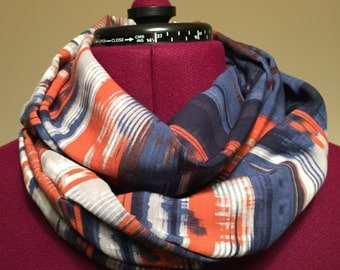 Navajo print infinity scarf