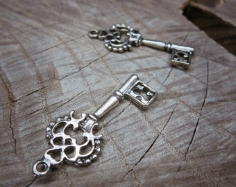 Key Charm Pendant Charms ~2 pieces #100271