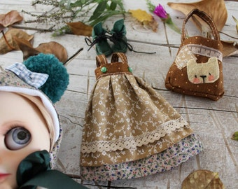 Set autumn (Overal/skirt... (Totebag and hat)