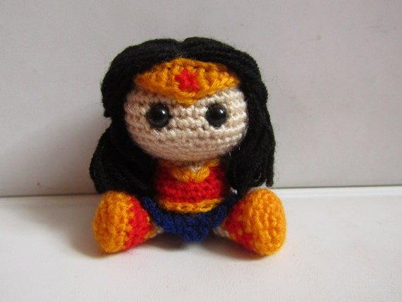 Amigurumi Wonder Woman : Wonder Woman Amigurumi