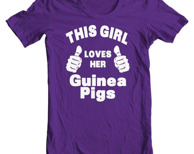 Guinea Pigs Kids T-shirt - This Girl Loves her Guinea Pigs Kids T-shirt