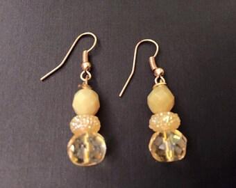 Handmade Shimmery Vintage Venetian Glass Beads