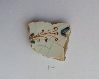 Italian ceramic fragment 1600