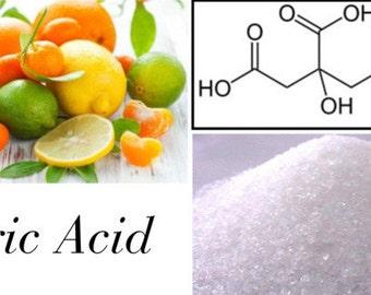 Citric Acid, Where to Buy Citric Acid, Sour Salt, Lemon Salt, 2oz,4oz,6oz,8oz
