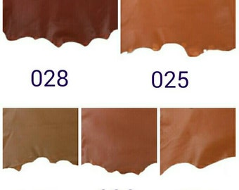 TAN leather - lamb skin option for hobo bags, soft leather material,leather for hobo bags, soft flowing leather
