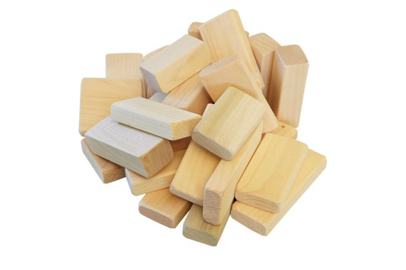 Wood Building Blocks ~ Retro toys children s wooden toy building blocks