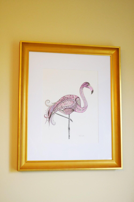 Flamingo Home Decor Girls Bedroom Decor Original By