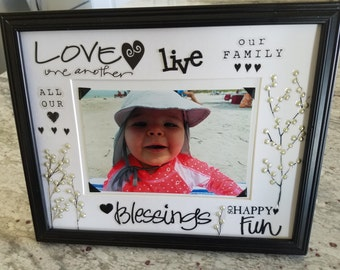 Make a statement with a Custom frame mat and capture life's little moments in a big way