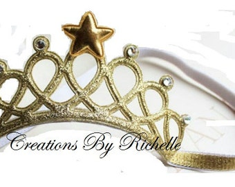 Gold Tiara Headband