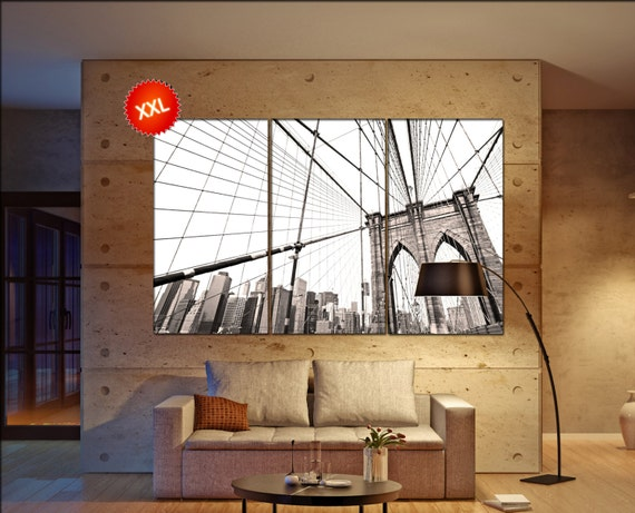 Manhattan bridge  canvas wall art  Manhattan bridge  wall decor canvas wall art  Manhattan bridge large canvas wall art wall decoration