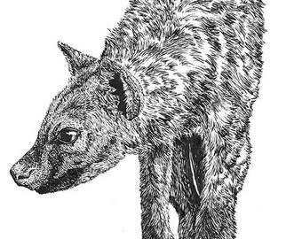 Hyena Print
