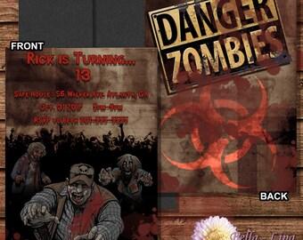 Zombie Party Invitation