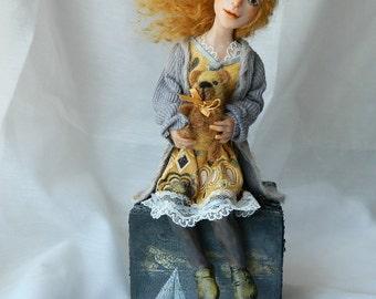 OOAK original art doll sculpture figurine