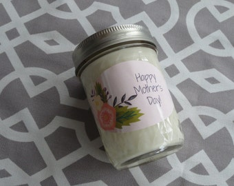 Mother's Day Candle- 8 oz Candle- Scented Soy Candle- Mother's Day Gift