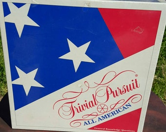 Trivial Pursuit All American Edition New in Wrap 1993