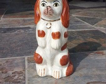 Staffordshire Dog Pitcher