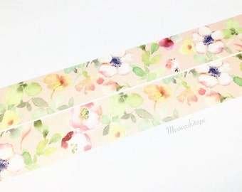 Liang Feng Watercolor - Spring Flora washi tape (T00677)