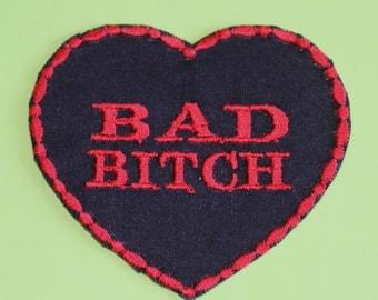 Bad B*tch Iron on Patch