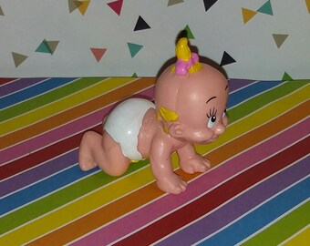 Vintage 1987 Applause How Framed Roger Rabbit Crawling Baby Herman Figure