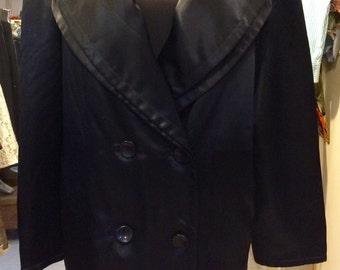 Sale! 1990's GF Ferre studio 0001 satin coat. Siz M/L.