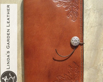 "Handmade Leather Kindle Fire HD 10"" Cover"
