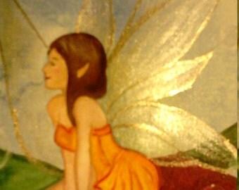 Art card little fairy
