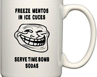 Ice bomb mentos