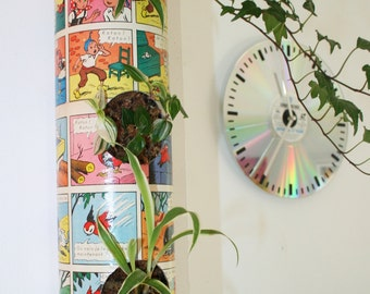 Table plant Tube cartoon old BD to ask or to suspend