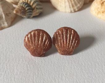 Seashell Earrings ~ Mermaid Earrings ~ Made in Wales
