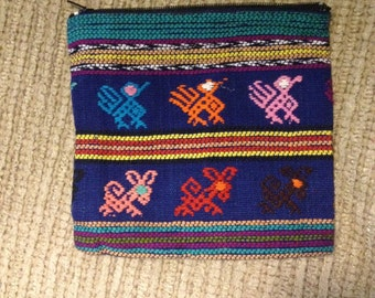 Handmade Guatemalan Coin Purses