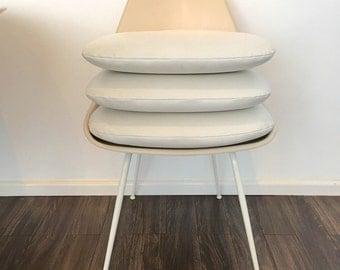 Replacement Cushions Herman Miller Eames Shell Chairs Eero Saarinen Style Burke Tulip Chair & Saarinen Tulip Chair Vinyl Replacement Cushion