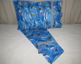 navy pillow case military bedding blue bedding bedding in blue ships bedding