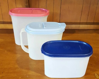 Assorted Tupperware Pitchers/Storage Containers