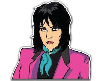 Joan Jett Sticker - I Love Rock N Roll