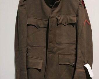 Vintage Engineers WWW1 Military Jacket