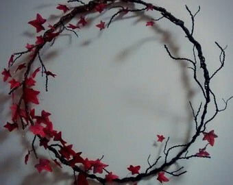 Changing of the seasons wreath/sculpture