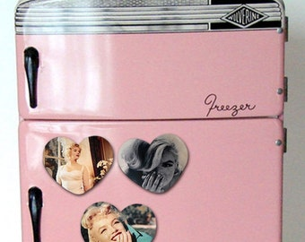Marilyn Monroe  Refrigerator Magnets vintage  fridge magnet three set retro Marilyn Monroe  fridge magnet giftideas