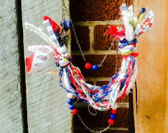 Fireworks In The Noonday Sun Statement Necklace {RDCa}