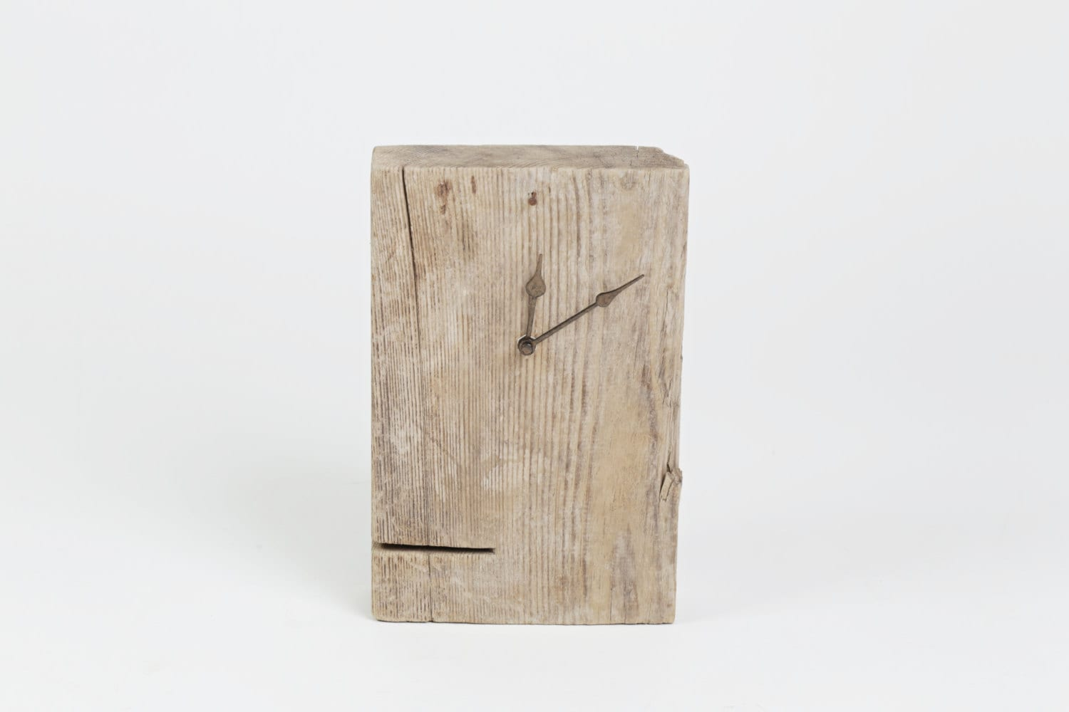 clock table driftwood treibholz uhr horloge bois flott. Black Bedroom Furniture Sets. Home Design Ideas