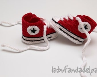 Crochet Converse All Star