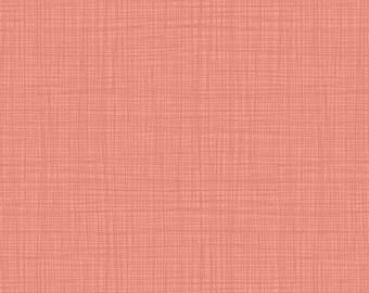 Linea Tonal Tea Rose Tutu Dusky Pink Textures Coordinate Blender Quilting Filler Cotton Fabric by Makower